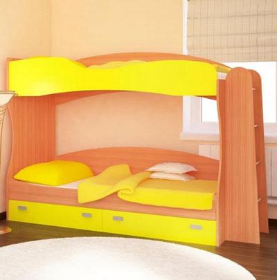 двухъярусных кроватей для детей.